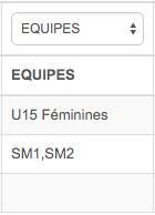 Exemple import équipe