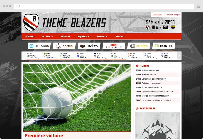 Thème Blazers