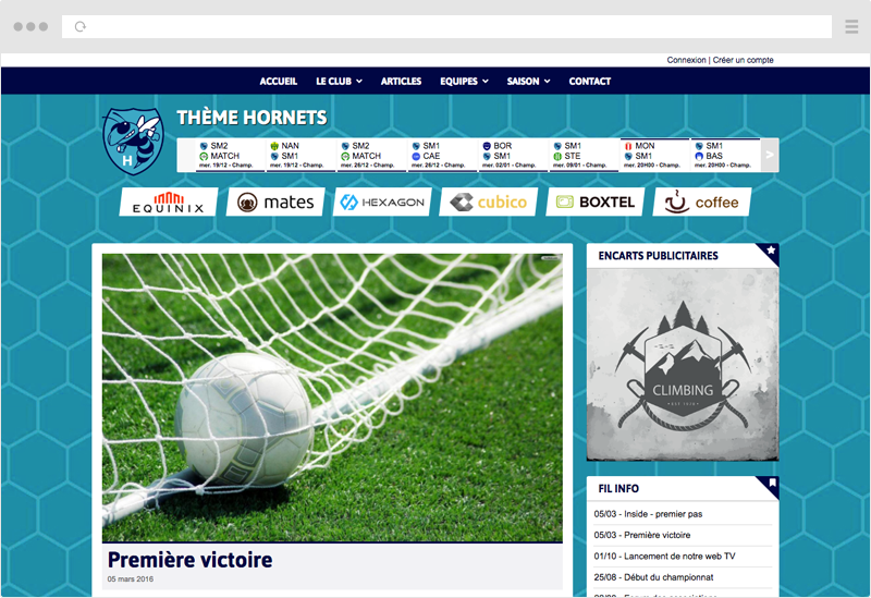 Thème Hornets