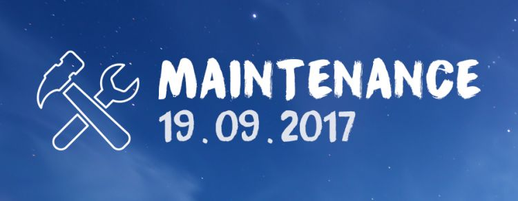 Opérations de maintenance le mardi 19 septembre