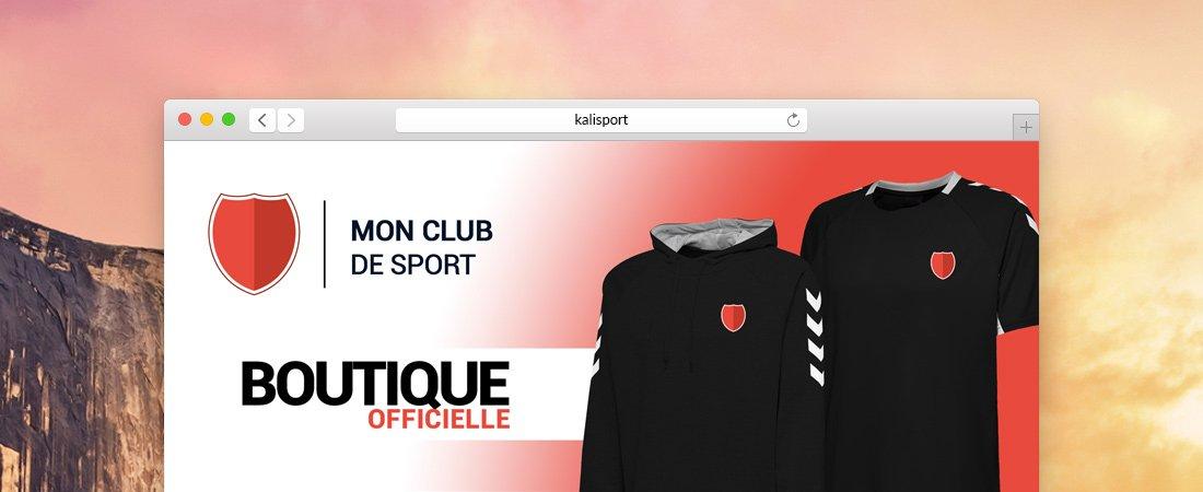 Une nouvelle offre pour votre boutique club - Logiciel gestion sportive pour club de sport